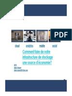 Storage IBM  Flash et SDS.pdf