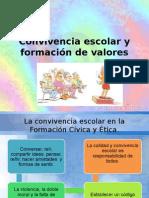Convivencia Escolar y Formación de Valores (1)