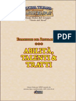 WFRP Abilità Talenti Tratti