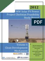 First Solar CDM Documents