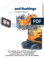 8V3) Pins and Bushings Excavators