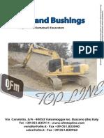 8V5) Pins and Bushings Excavators