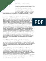 Discurso - VIII Turma de Informática Biomédica