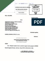 US Judge Charles R. Wilson, US Eleventh Circuit-One-judge-Appellate-Order2