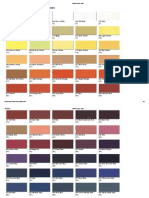 Vallejo Colour Chart