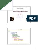 Nuclear waste and Vitrification. Estremoz 2007.pdf