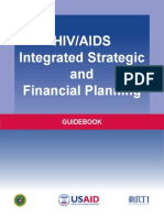 HIV AIDS Integrated Strategic and Financial Planning Guidebook