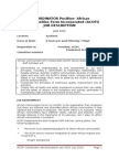 ACOFI- Job Description-Co-Ordinator Position