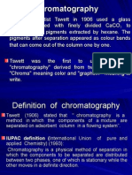 Chromatography Principles
