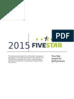 Five Star Award 2015 Rev