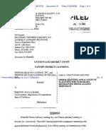 Pioneer Military Lending, Inc. et al v. DuFauchard - Document No. 18