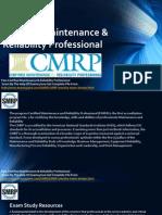 CMRP Brain Dumps