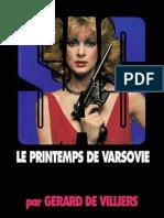 SAS 050 - Le Printemps de Varsovie Gerard de Villiers