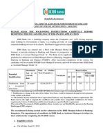 Detailed Advertisment MGES 2015 Process IBPS May 27