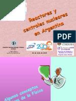 HUGO MARTIN ATOMICA CORDOBA APOYO VINCULAR 2015 REACTORES Y CENTRALES NUCLEARES EN ARGENTINA