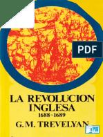 G M Trevelyan - La Revolucion Inglesa 1688 1689
