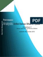Lab Test - Dell AppAssure 5 vs. Symantec Backup Exec 2012 - Jack Fegreus, OpenBench Labs