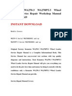 Komatsu WA270-3 WA270PT-3 Wheel Loader Service Repair Workshop Manual DOWNLOAD.pdf