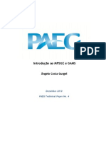 GAMS Technical Paper
