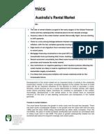 Australian Rental Market Discussion Paper