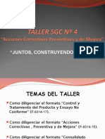 Taller Sgc 4