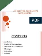 Nano Electro Mechanical System Nems