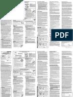 First Alert - SA340 Ionization Alarm User Manual