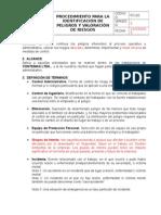 Procedimiento Peligros y Riesgos (GTC 45:2012)