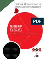 ICCDU 2015 Programme Booklet