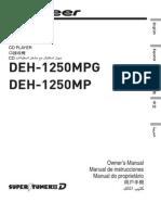 operating manual (deh-1250mp) (deh-1250mpg)- eng - esp - por.pdf