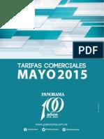 Panorama Tarifas Comerciales Mayo 2015