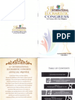 51st International Eucharistic Congress Facilitators' Guide for Childre