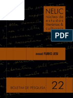 Boletim NELIC v. 14, n. 22- Dossiê Furio Jesi