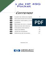 Guía de Bolsillo Con Comandos Hp49