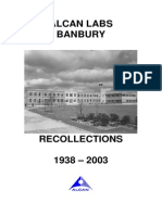 ALCAN LABS BANBURY Recollections