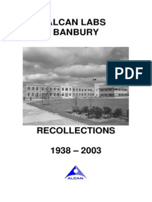Alcan Labs Banbury Recollections Rolling Metalworking