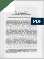 Weipert--Die Erhaltenen Werke Des Ibn Abi D-Dunya--ZDMG1996
