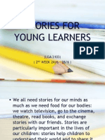 2nd Week Lga3103stories for Young Learners