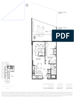 Baltus House - 1 Bedroom Floor Plans
