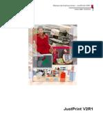 Manual JustPrintv2r1