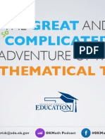 The Great and (not so) Complicated Adventure of the Mathematical Task