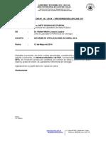 Memorandum Citologia