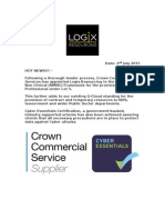 Crown Commercial Services has appointed Logix Resourcing