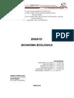 Ensayo Economia Ecologica 1