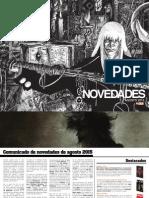 NOVEDADES ECC Ediciones para Agosto 2015