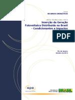 DEA 19 - Inserção Da Geração Fotovoltaica Distribuída No Brasil - Condicionantes e Impactos VF (Revisada)
