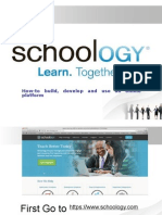 How using schoology in easy way