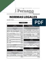 Normas Legales Del Dia Martes 30 de Junio Del 2015