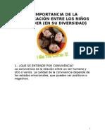 1. LA IMPORTAMCIA DE LA COMUNICACIÓN ENTRE LOS NIÑOS DE KINDER