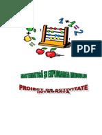 Proiect Matematica cls I